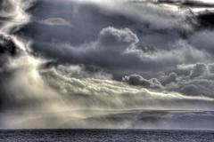 A view (pauldunn52) Tags: devon porlock dunkerry selworthy storm hail clouds sunlight mist
