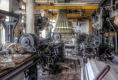 IMG_0680_1_2_tonemapped (Mstsk przkum) Tags: urbex spining weaving looms abandoned opusteny mill factories