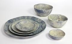 New ceramic Bubble-edge Tableware (anczelowitz) Tags: ceramic pottery clay stoneware glaze texture handmade craft anczelowitz new tableware vase plates elledecor cnx artisan