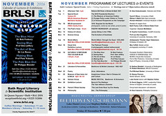 BRLSI NOVEMBER CALENDAR 2016-1 (The^Bob) Tags: bath brlsi calendar 2016 thecolourblue symposium