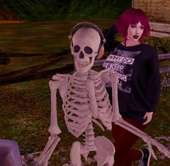 skellyluv (hunnibear86) Tags: zombie suicide wasabi egozy ikon catwa erratic euphoric avatar secondlife sl halloween sweater fall autumn skeleton afterhours