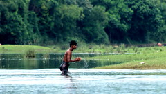 ~moments~ (~~ASIF~~) Tags: canon60d outdoor village river people lifestyle water single alone