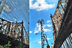 QueensboroBridge (elizaroff) Tags: queensboro bridge queensborobridge  manhattan manhattanskyline reflection reflections skyscrapers skyscraper glass blue sky newyork newyorkcity nyc nys ny skyline