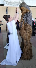 Wintercon 2016 - Leia & Chewie (Rich.S.) Tags: wintercon winter con 2016 convention nyc cosplay contest star wars chewbacca princess leia