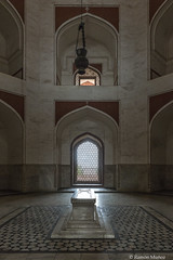 DSC5570 Mausoleo de Humayun (cenotafio del emperador), año 1565-72, Delhi (Ramón Muñoz - ARTE) Tags: delhi india mausoleo tumba de humayun