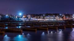 Nepean Sailing Club : November 28, 2016 (jpeltzer) Tags: ottawa ottawariver night nepeansailingclub dick winter