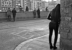 """"""" Walls """" Florence, lungarno degli Acciaiuoli < Explore > (pigianca) Tags: italy florence lungarno monochrome blackwhite bw streetphoto urbanphoto leicaq explore"""