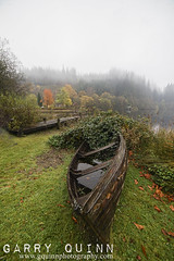 Ard views (garry q) Tags: light landscape loch lochard water grass boat jetty boathouse leaves leaf golden brown autumn autumnal scotland