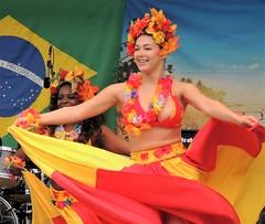 Brazil day dancers (bokage) Tags: sweden stockholm dancer dancing performer entertainer bokage brazilday