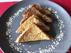 frannycooks 3 (frannywanny) Tags: frannycooks frenchtoast recipe cheezyoatfrenchtoast kelloggsoats bonsoy brunch howtocook breakfast