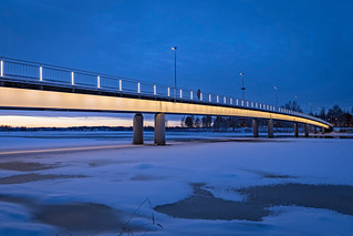 Pikisaarnsilta in City of Oulu