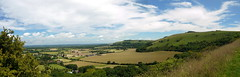 Climbing on to the Ridge (Worthing Wanderer) Tags: southdowns sussex summer sunny devils dyke viewpoint clouds