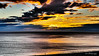 """Painted December"" (OffdaLipp) Tags: ocean color art leica offdalipp storm clouds weather yellow fireball horizon sky texture"