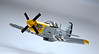 P-51D - North American Mustang (Milan CMadge) Tags: ww2 wwii p51 p51d mustang north american lego plane aircraft airplane military vehicle model snot