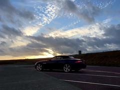 French sky (mistdog) Tags: ifttt dropbox france car jaguar xk convertible blue enlight