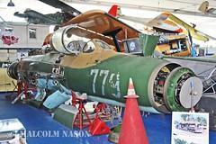MIG-21SPS 779 EAST GERMAN AIR FORCE (shanairpic) Tags: preserved museum merseburg jetfighter military mig eastgermanairforce