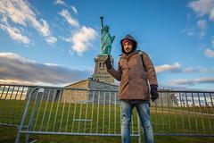 Oi Oi (yaznatasha) Tags: newyork nyc newyorkcity usa america canon canon5dmarkiii lightroom outdoors outdoor november winter christmas statueofliberty libertyisland