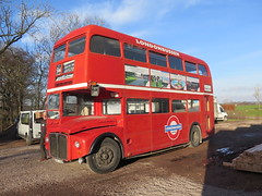 Londonbuss under julmarknad i Wapn grd norr om Halmstad 2016 (biketommy999) Tags: wapn slott halland 2016 biketommy999 biketommy sverige marknad sweden jul