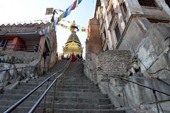 DSC_3410stairs (BasiaBM) Tags: swayambhunath monkey temple kathmandu nepal