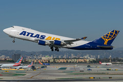 Atlas Air / B744F / N477MC / KLAX (_Wouter Cooremans) Tags: klax lax losangeles losangelesinternationalairport spotting spotter avgeek aviation airplanespotting atlas air b744f n477mc atlasair b744