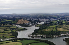 Flying towards Truro from the south (John D F) Tags: truro cornwall aerial aerialphotography aerialimage aerialphotograph aerialimagesuk aerialview britainfromabove britainfromtheair