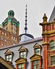 writen history in architecture...... #building #architecture #history #explorenewyork #city#lookup #newyork_instagram #everyday #citywalk #skyscrapers #buildingporn #contrast #composition #progres #evolution #oldandnew#concretejungle #manhattan #nyc#wtc#f (michasekdzi) Tags: instagramapp square squareformat iphoneography uploaded:by=instagram manhattan architecture explore city history citylife explorenewyork composition