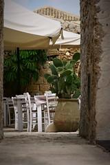 IMG_6360_L-10_C30_vignetta53 (eugeniointernullo) Tags: holiday vacanza marzamemi sicily sicilia sicilianità ficupala restaurant relax