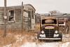 Project Car (dtredinnick13) Tags: antique ghosttown i90 oakton old oldtown southdakota decrepit fallingapart car oldcar decay rust rustbucket junker