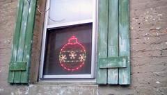 Christmas window decoration! HWW. (Maenette1) Tags: christmas window decoration menominee uppermichigan happywindowswednesday flicker365
