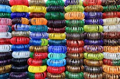 Bracelets (Alex L'aventurier,) Tags: jodhpur india inde colours colors bracelets framing art repetition market march rptition street rue