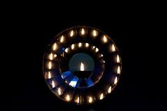Lamp (_paVan_) Tags: temple littleindia singapore worship faith mirrors light reflection lamp