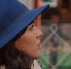 Portrait (Natali Antonovich) Tags: portrait sweetbrussels brussels belgium belgie belgique profile stare reverie hatisalwaysfashionable hat hats tradition