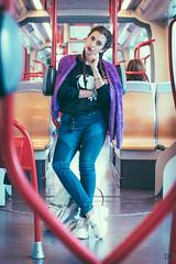 Davinia Arguedas 5 (DANIEL AGUADO) Tags: davinia arguedas zaragoza nikon tranvía