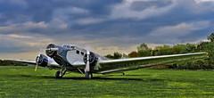 JU 52 Junkers (gnterchristian.thomsen) Tags: ju52 junkers aeroplane airborn plane flugzeug rimowa nikon heist uetersen hdr