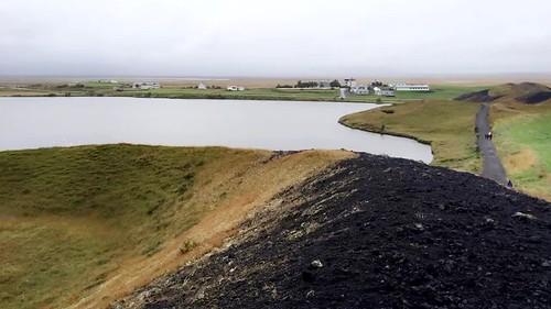 Skútustaðir Pseudo Craters, Lake Mývatn, Iceland