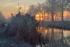 DSC_9540ac (Jan Visser Renkum) Tags: slinge zonsopkomst winter achterhoek