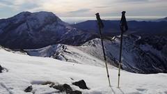 el Espigete desde el Pico Murcia (L C L) Tags: picomurcia espigete palencia espaa castillaylen montaapalentina loretocantero lcl 2016 nieve snow pico top subir bastones mountain