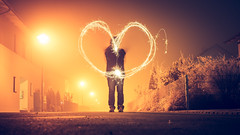 The most important thing (Stefan (ON/OFF)) Tags: love lightpainting longtimeexposure lte lt night nightshot nightlights nightphotography light color colors colours colour newyear happynewyear heart paintedheart paintedwithlight sonya7m2 sel35f14z