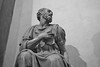 St. Cosmas by Giovanni Angelo Montorsoli (adelina_tr) Tags: giovanniangelomontorsoli firenze florence sculpture renaissance bw blackandwhite 7dayswithflickr medicichapels