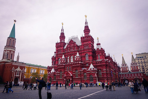 red on Red Square