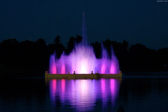 "Prismatic Electric Fountain in ghost-like violet • <a style=""font-size:0.8em;"" href=""http://www.flickr.com/photos/34843984@N07/14924768483/"" target=""_blank"">View on Flickr</a>"