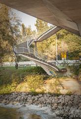 stairway to... (werk-2at) Tags: wien austria österreich geburtstag treppe brücke schiff wendeltreppe