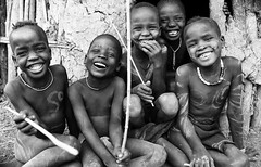 Ethiopian tribes, happy Mursi boys (Dietmar Temps) Tags: africa portrait people boys kids children fun friendship faces traditional culture happiness tribal adventure muni journey tribes afrika ritual bodypainting tradition ethiopia tribe ethnic mursi scars scarification afrique ethnology nomadic eastafrica thiopien jinka etiopia ethiopie loweromovalley southomo ethnie omoriver magonationalpark bidiro