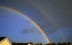 Double Rainbow (Greatdog) Tags: sky clouds rainbow dorset poole branksome cloudsstormssunsetssunrises
