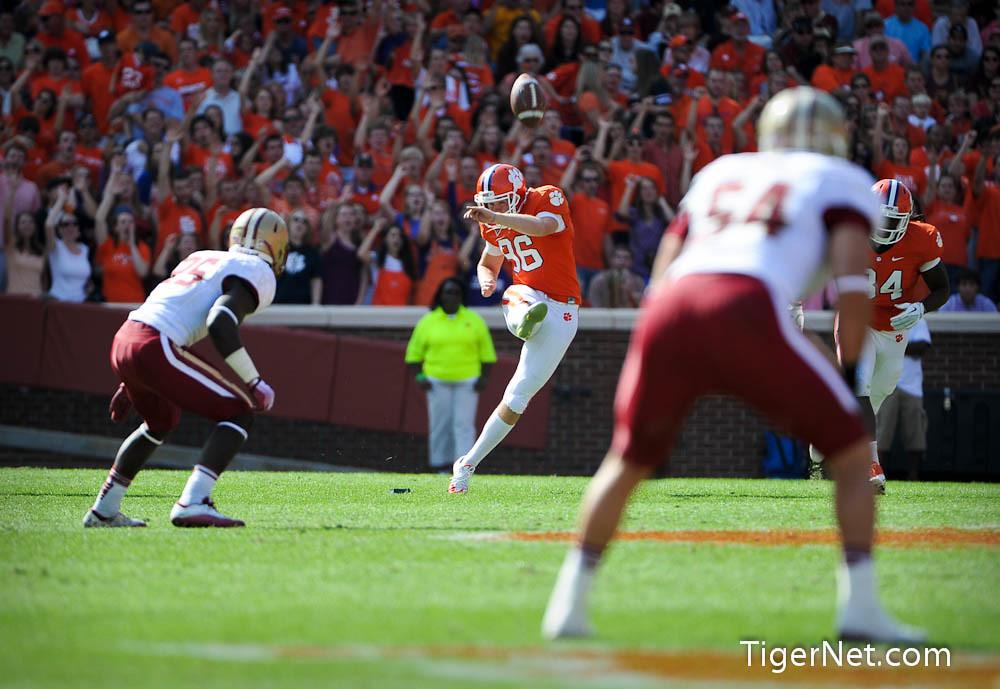 Clemson Photos: 2011, Boston  College, Dawson  Zimmerman, Football