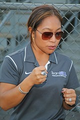 D111129A (RobHelfman) Tags: sports losangeles football highschool practice crenshaw teamheal ellenkelly