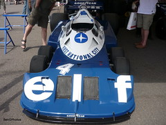 P34 (BenGPhotos) Tags: sports car sport festival race speed one 1 f1 racing formula british 1977 fos v8 goodwood motorsport 2010 cosworth tyrrell p34 6wheel p34b