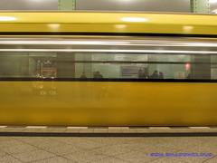 IMG_1958 (Shadow091995) Tags: berlin yellow germany subway exposure gelb ubahn langzeitbelichtung bvg longtime