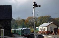 Llangollen Railway - Glyndyfrdwy Station (sab89) Tags: uk black station wales other with diesel box 5 five north platform railway trains junction class steam signals plus british locomotive welsh signal railways berwyn mid smt llangollen railroads stations unit carriages gwr lms 460 dmu denbighshire wickham stanier carrog 56171 glyndyfrdwy 45337 50416 m51907 m54490 m56223 m51618