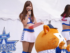 MC diana Miho / Family Bay Park (zaki.hmkc) Tags: baseball cheer miho db  diana2014 diana denabaystars